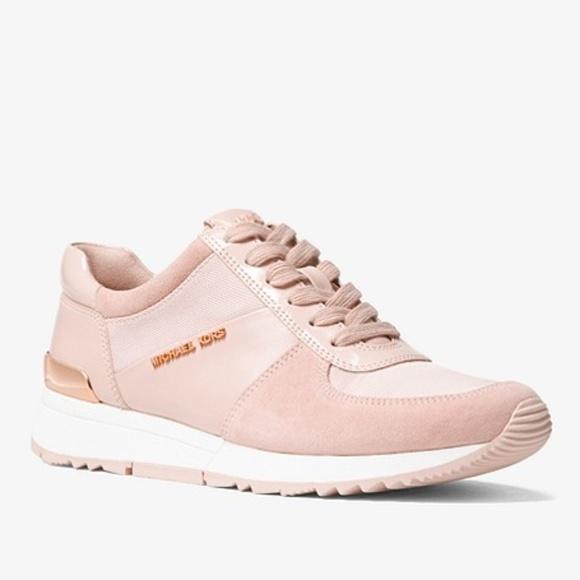 Michael Kors Allie Pink Sneakers Tennis
